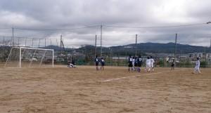 いまの中学生は、本当にサッカーをよく知っていって上手い!