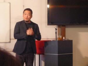 先日伺った、尾崎先生のスクールでの講義のとき
