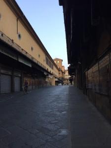 こちらがフィレンツェのポンテベッキオ